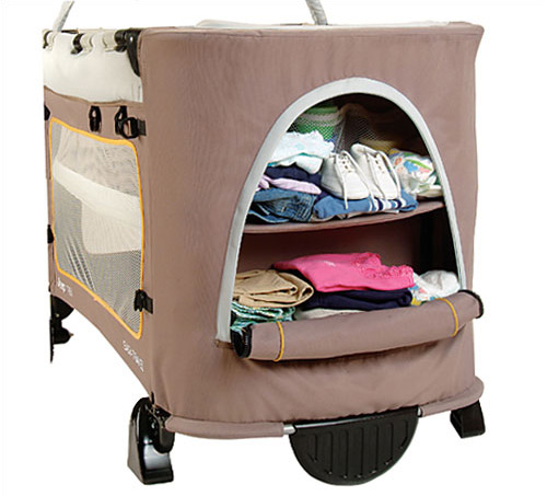 Jeep Trek Easy Travel Playard in Energy Tan