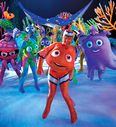disney on ice: Buscando a Nemo