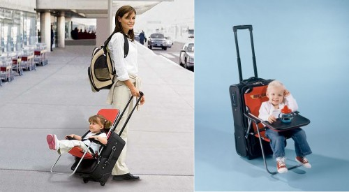 Ride-On Carry-On, una sillita en la maleta
