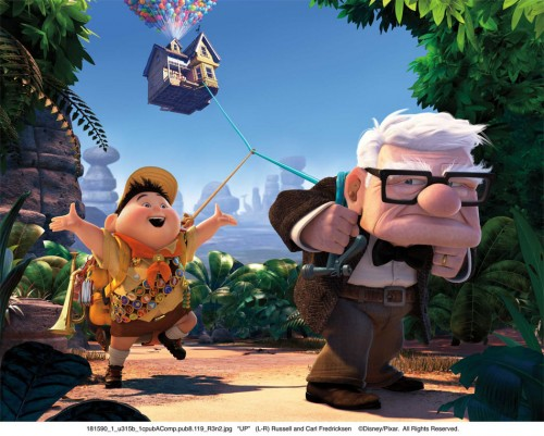Estreno de Up en cines