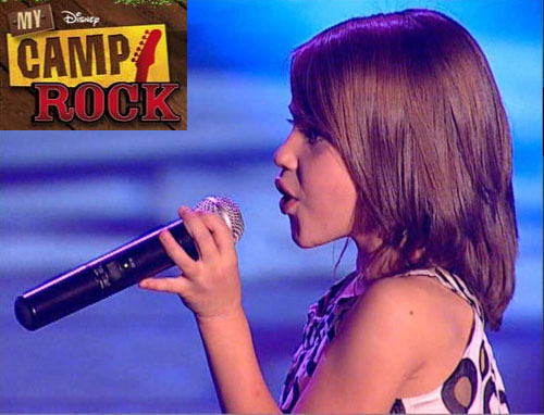Lucia Gil ganadora de My Camp Rock