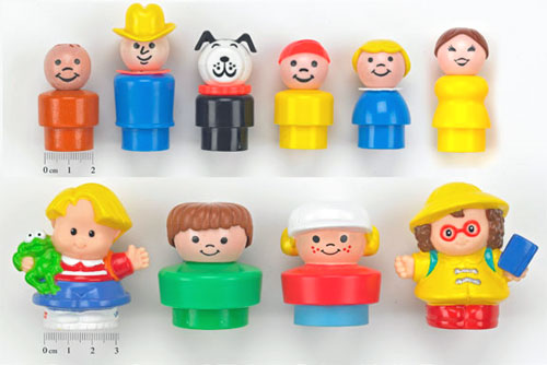 Muñecos Little People de 1991
