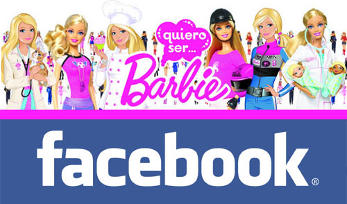 Barbie en Facebook