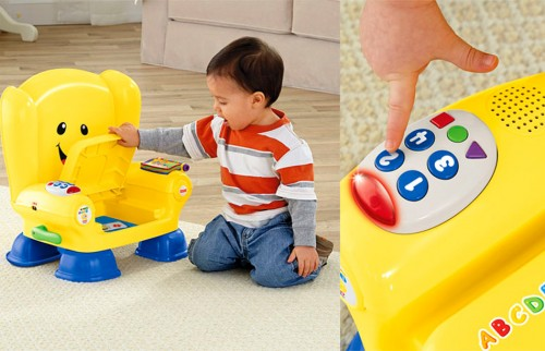 Silla interactiva infantil de fisher price pequelia for Silla fisher price