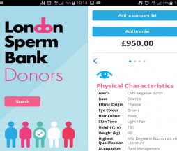 London Sperm Bank Donors