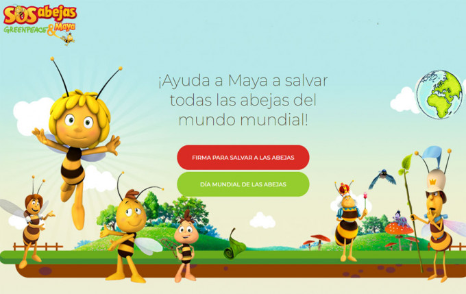 SOS Abejas by Greenpeace & Maya