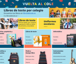 Vuelta al Cole en Amazon